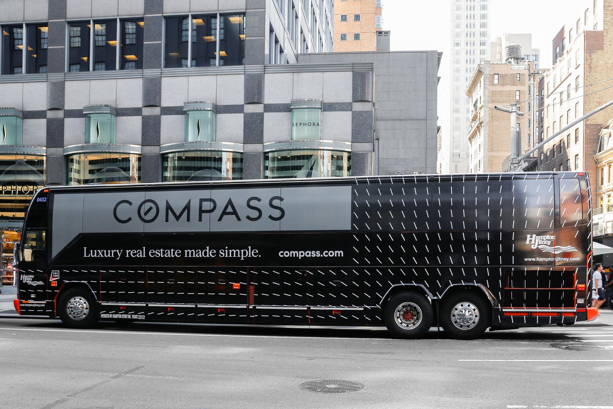 HAMPTON JITNEY BUS WRAP - COMPASS