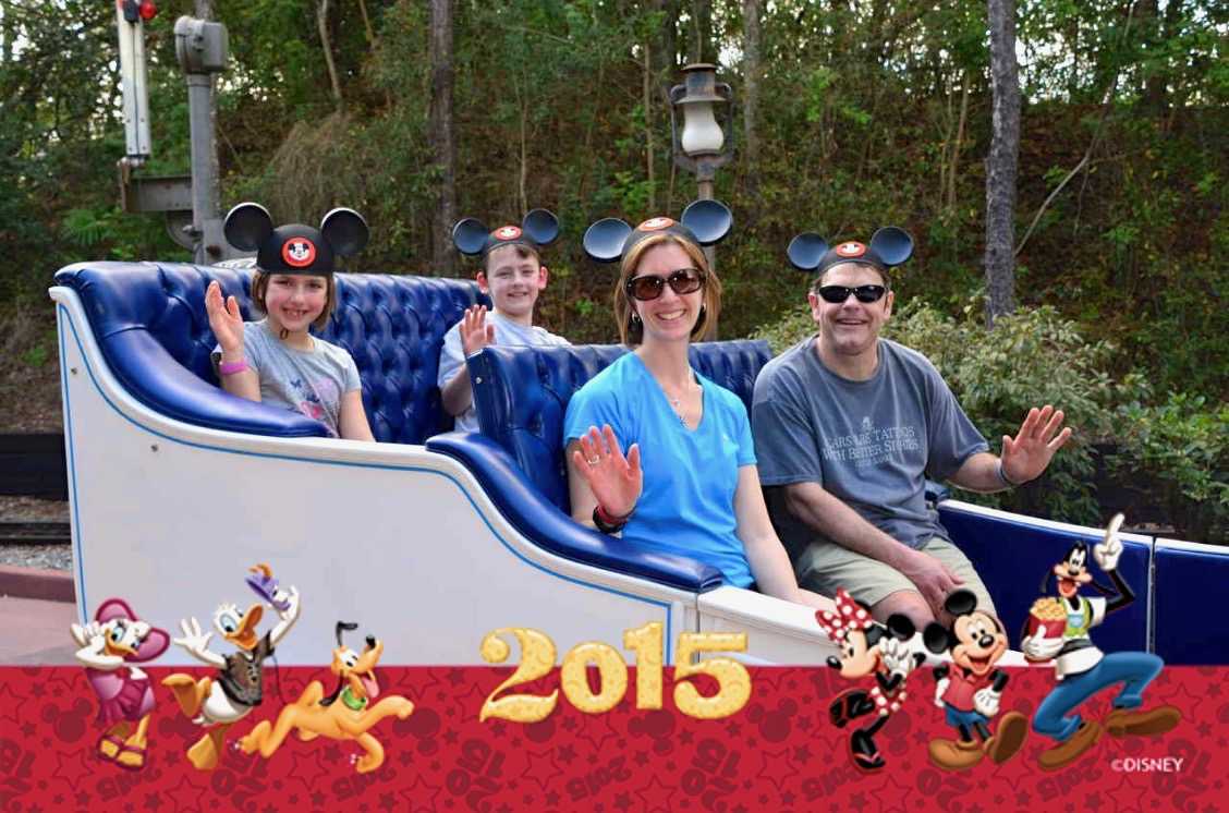 My family and I were asked to be the Grand Marshall Family at Disney in 2015! It was one of the best days EVER!