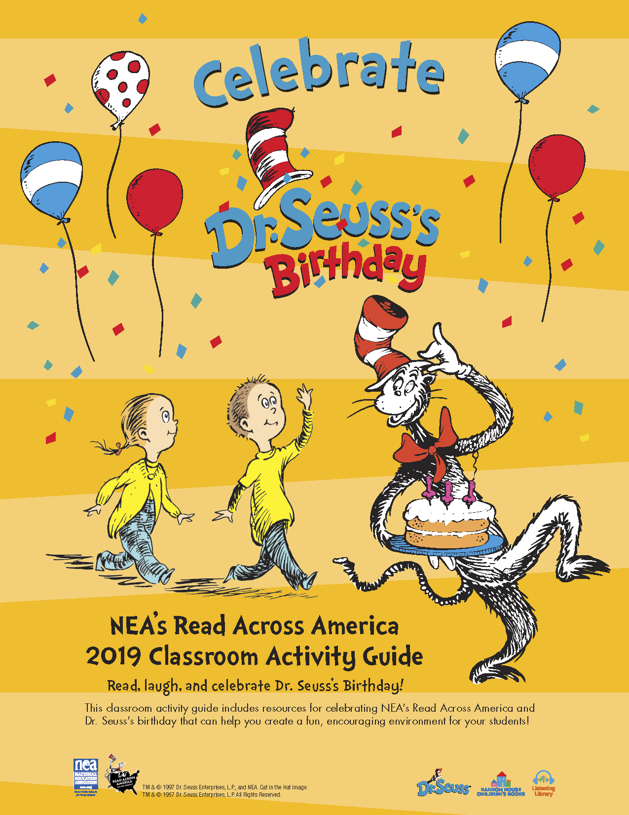 Dr. Seuss Birthday Activity Guide -