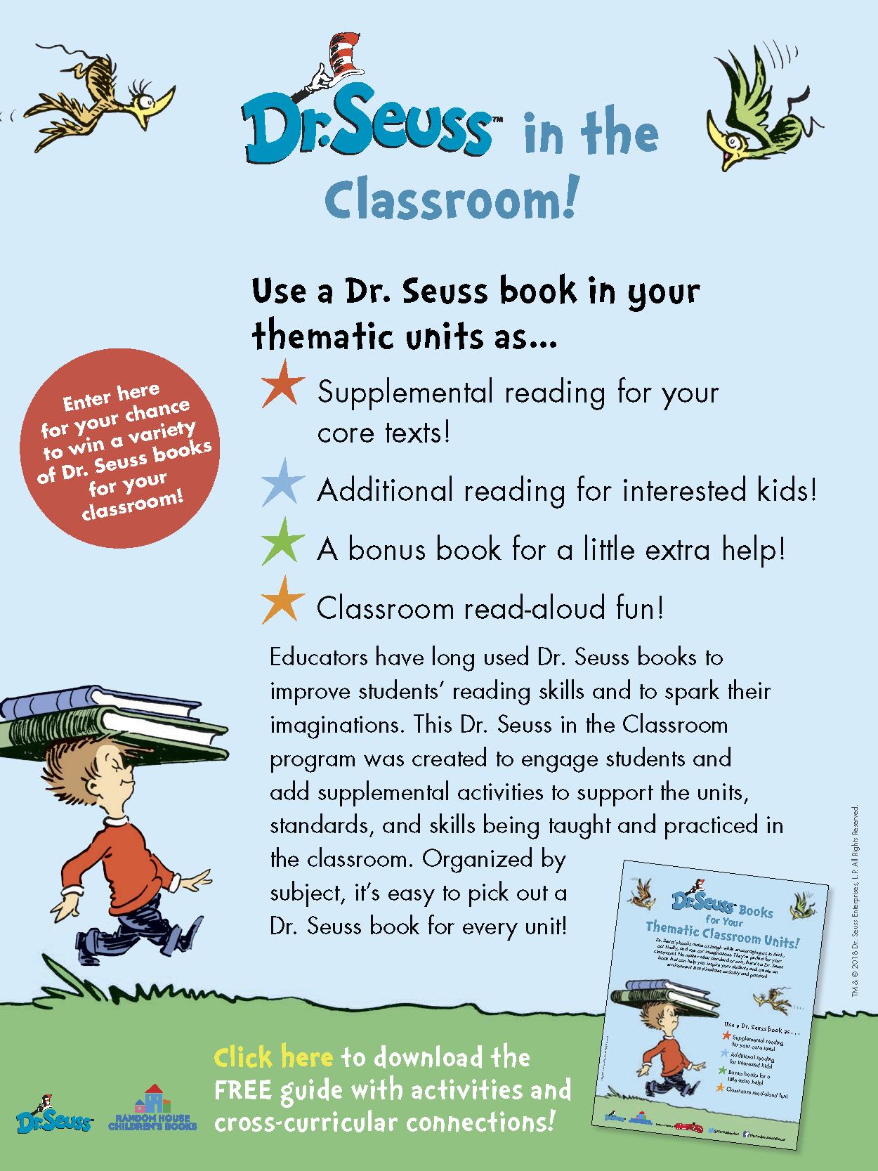 Dr. Seuss Classroom eBlast -