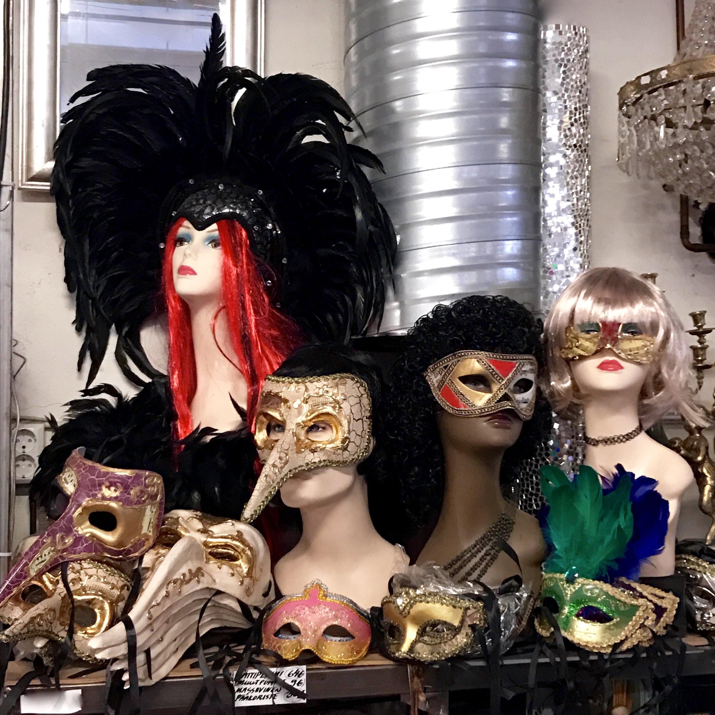 Venetsia naamiot