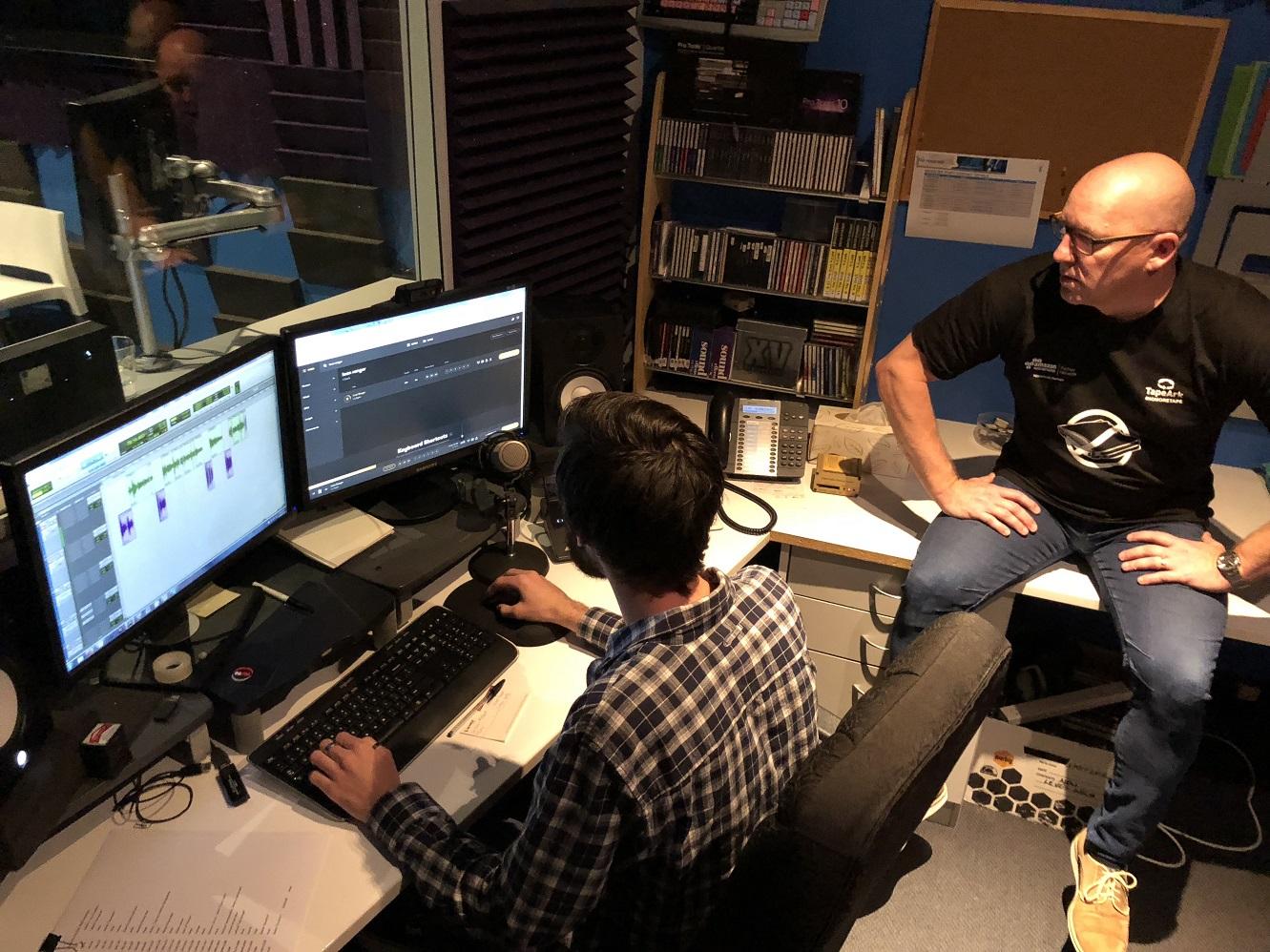 Tape Ark 3D Podcast_GH in Production_LR.jpg