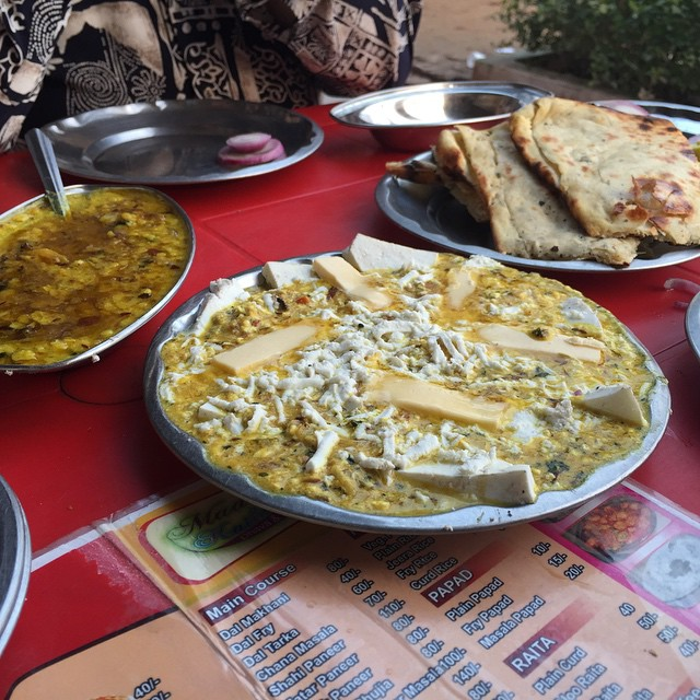 FOOD FROM A DHABA