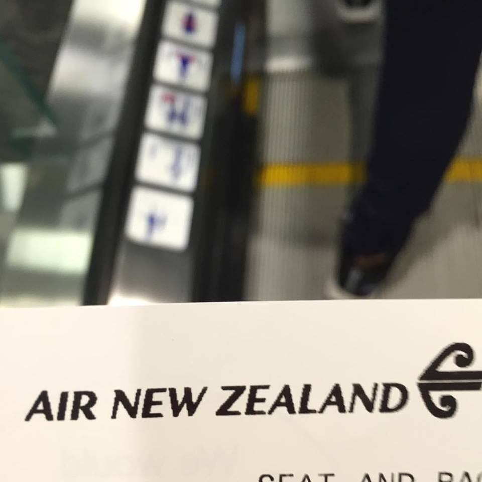 AIR NEW ZEALAND BOARDING PASS