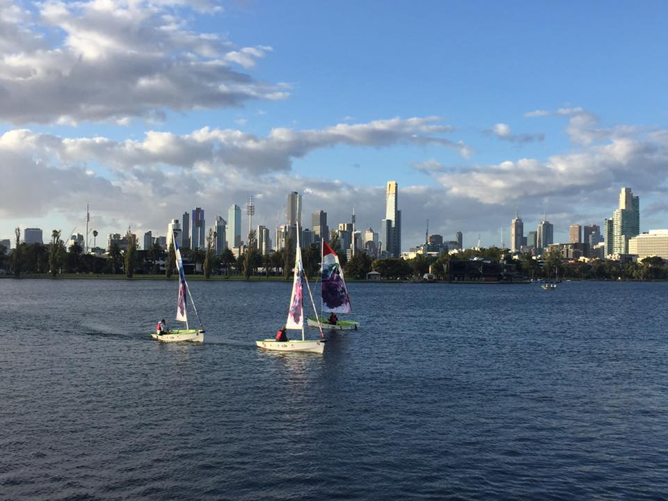 THE VIEW FROM ALBERT PARK