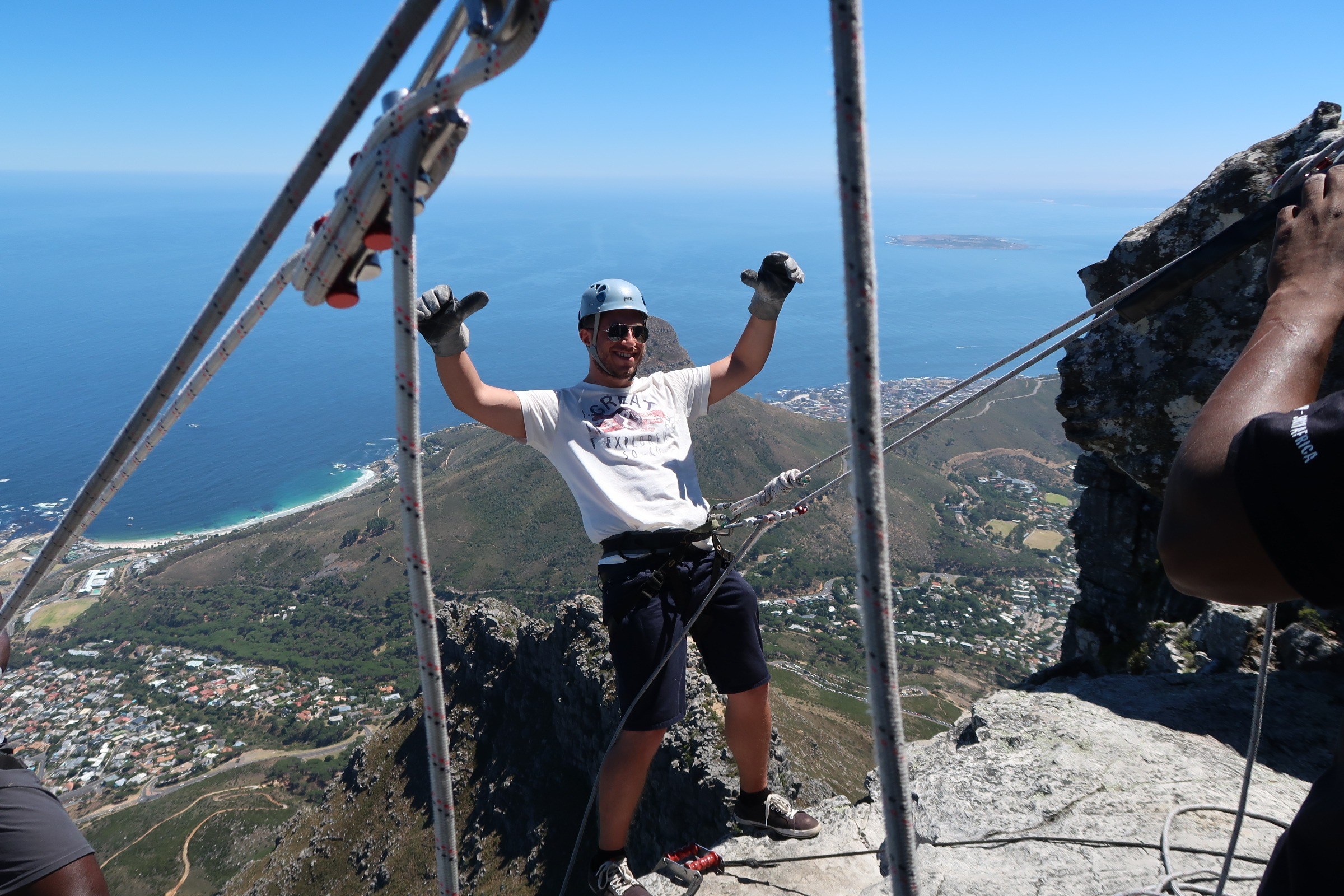 ABSEILING FROM TABLE MOUNTAIN - A MUST DO!