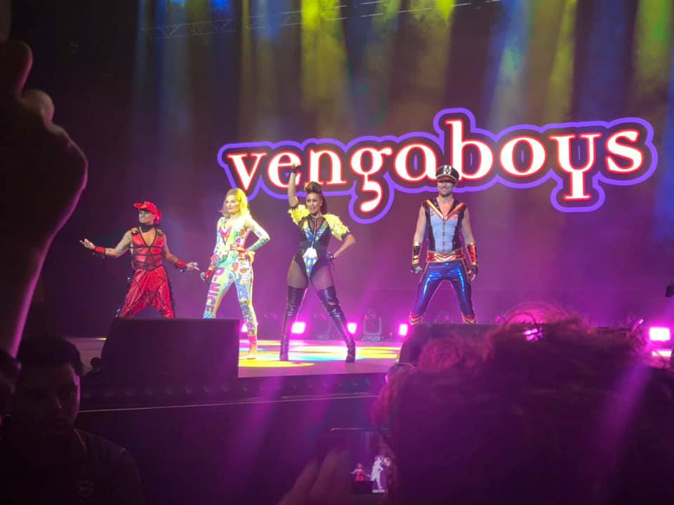 THE VENGABOYS TAKE THE STAGE  COPYRIGHT MILIG
