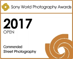 "Sony World Photography Awards 2017 Open Commended Street Photography for ""The Cafe"""