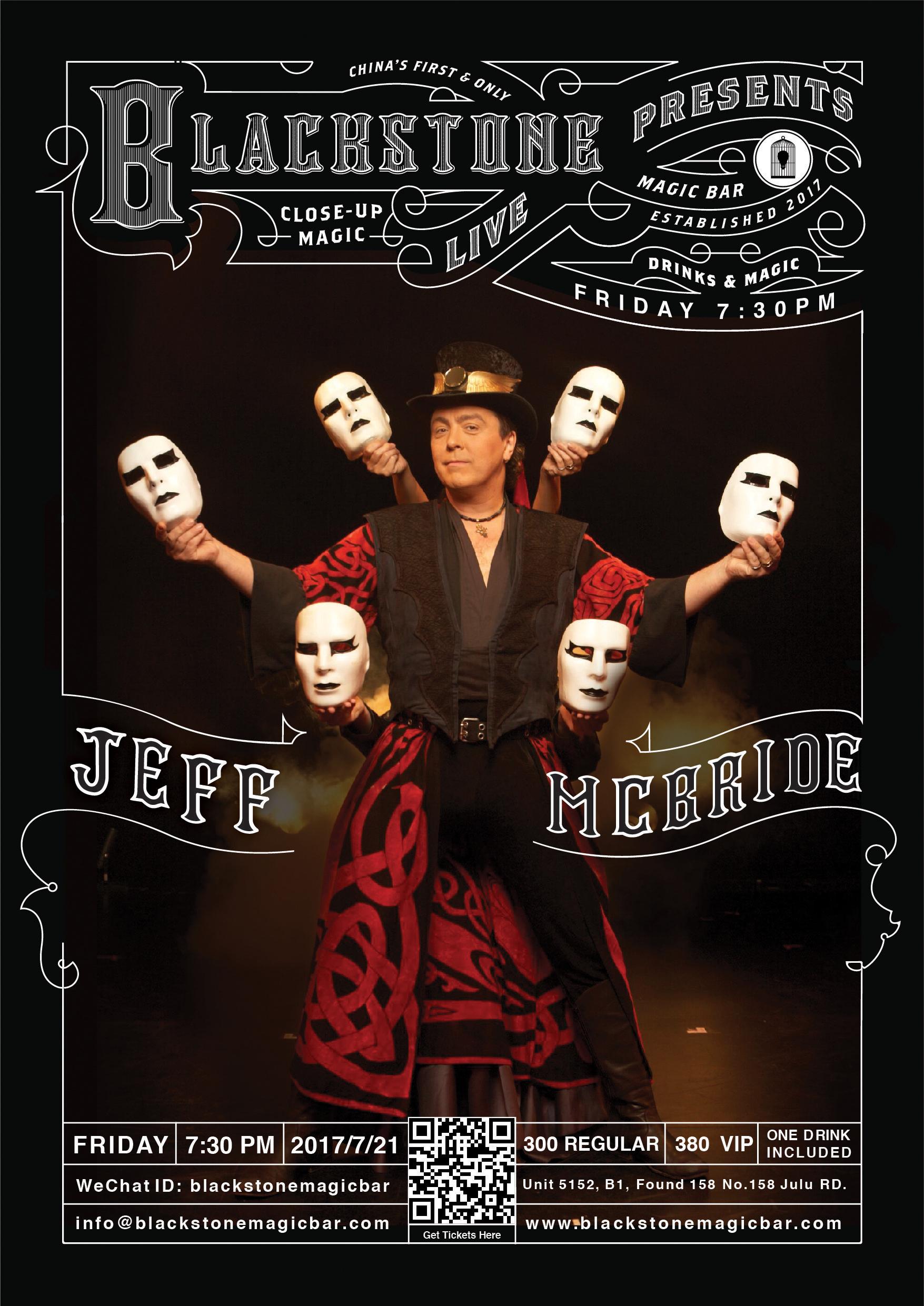 BLACKSTONE LIVE-BY JEFF MCBRIDE