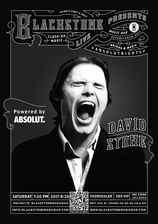 BLACKSTONE LIVE-BY DAVID STONE