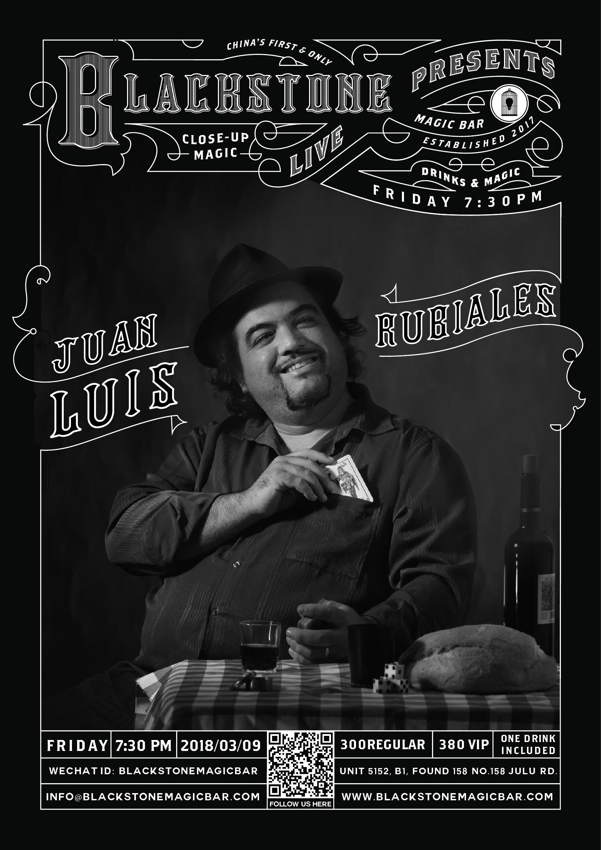Blackstone LIVE - 特邀嘉宾 Juan Luis Rubiales