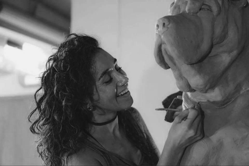 Gabriella Commisonned Animal Sculpture