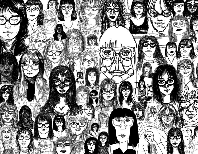 Pictured: Nena Salobir's  The Self-Portrait in Society