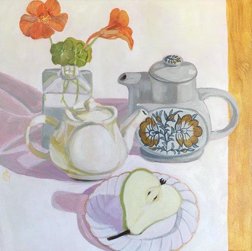 Pictured: Kiata Mason's  Small teapots
