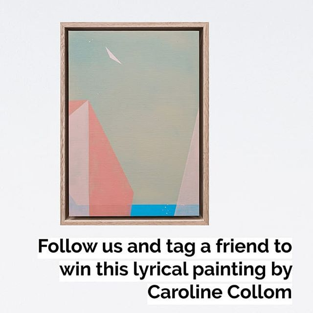 Ahead of the Studio Tour with drinks and gourmet nibbles on Sat 15 June, we're giving away this beautiful, original painting by @carolinecollom 🧡 Tag a friend and follow Collab to be in the running to win! . Competition closes 30th June. T&Cs apply. Visit our website for details. Book the Studio Tour via the link in our bio. . #carolinecollom #winapainting #competition #prize #prizedraw #artgiveaway #giveaway #artcompetition #interiorstyle #decorstyle #sydneydesign #australiancompetition #localartist #sydneyartist #gormanxcarolinecollom #gormanartist #sydneycreatives #studiotour #artistsstudio #geometricabstraction #contemporaryabstraction #abstractpainting #abstractlandscape #tagafriend