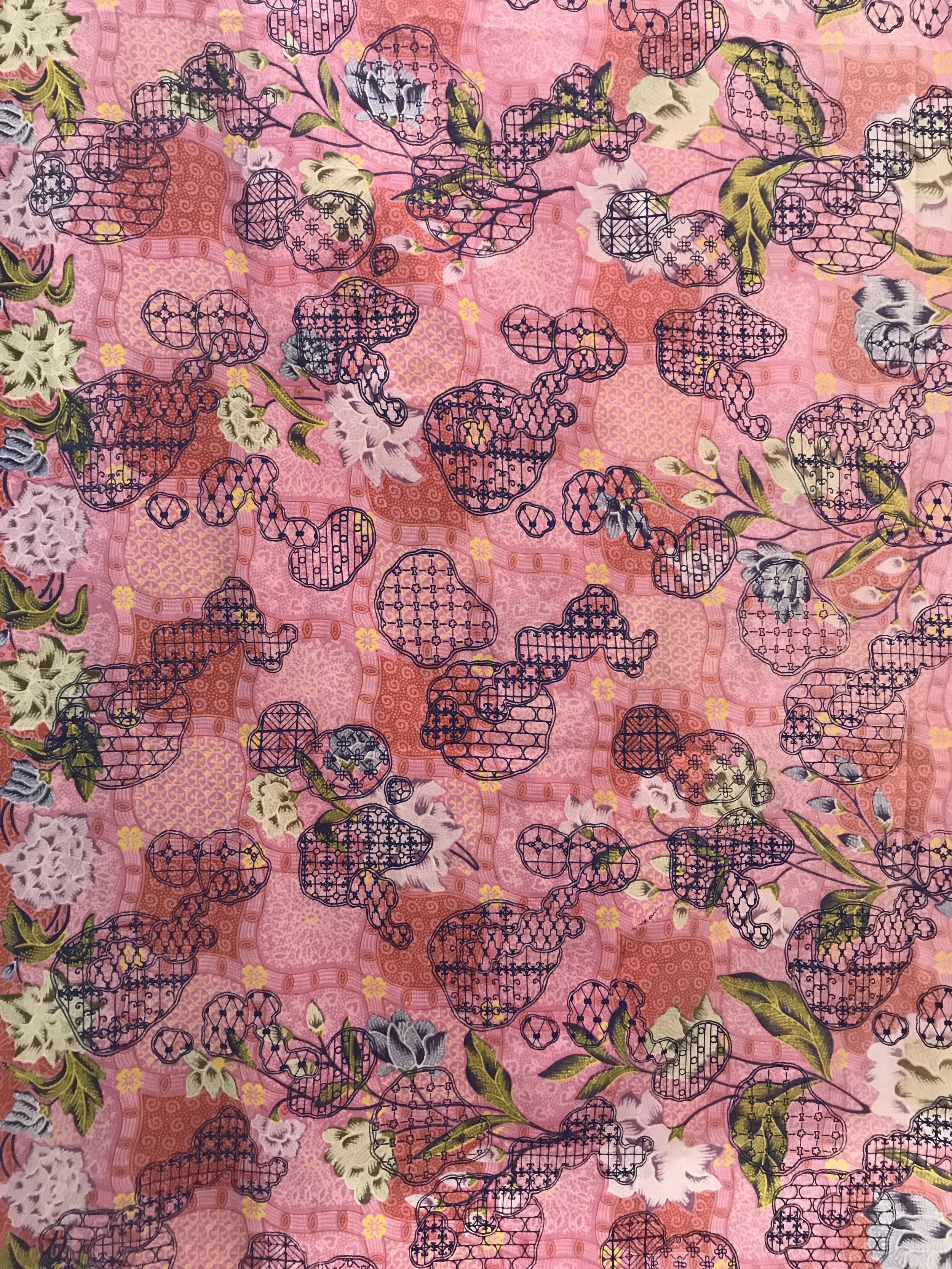 Shophouse Mould – Used Fabric