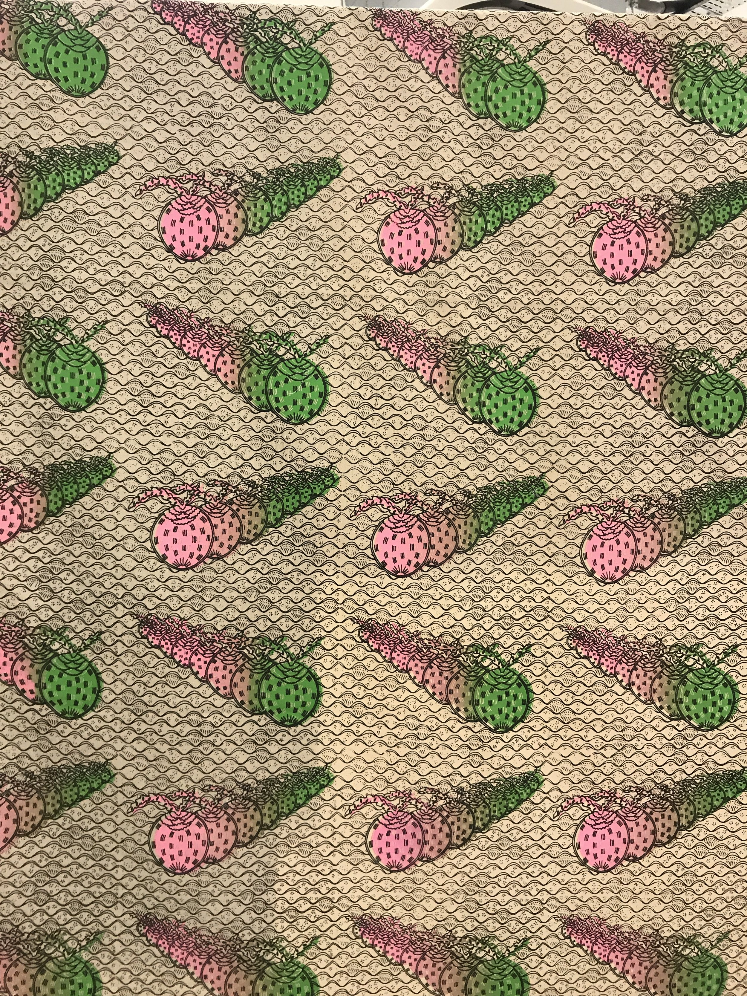 Travelling Coconut – Used Fabric