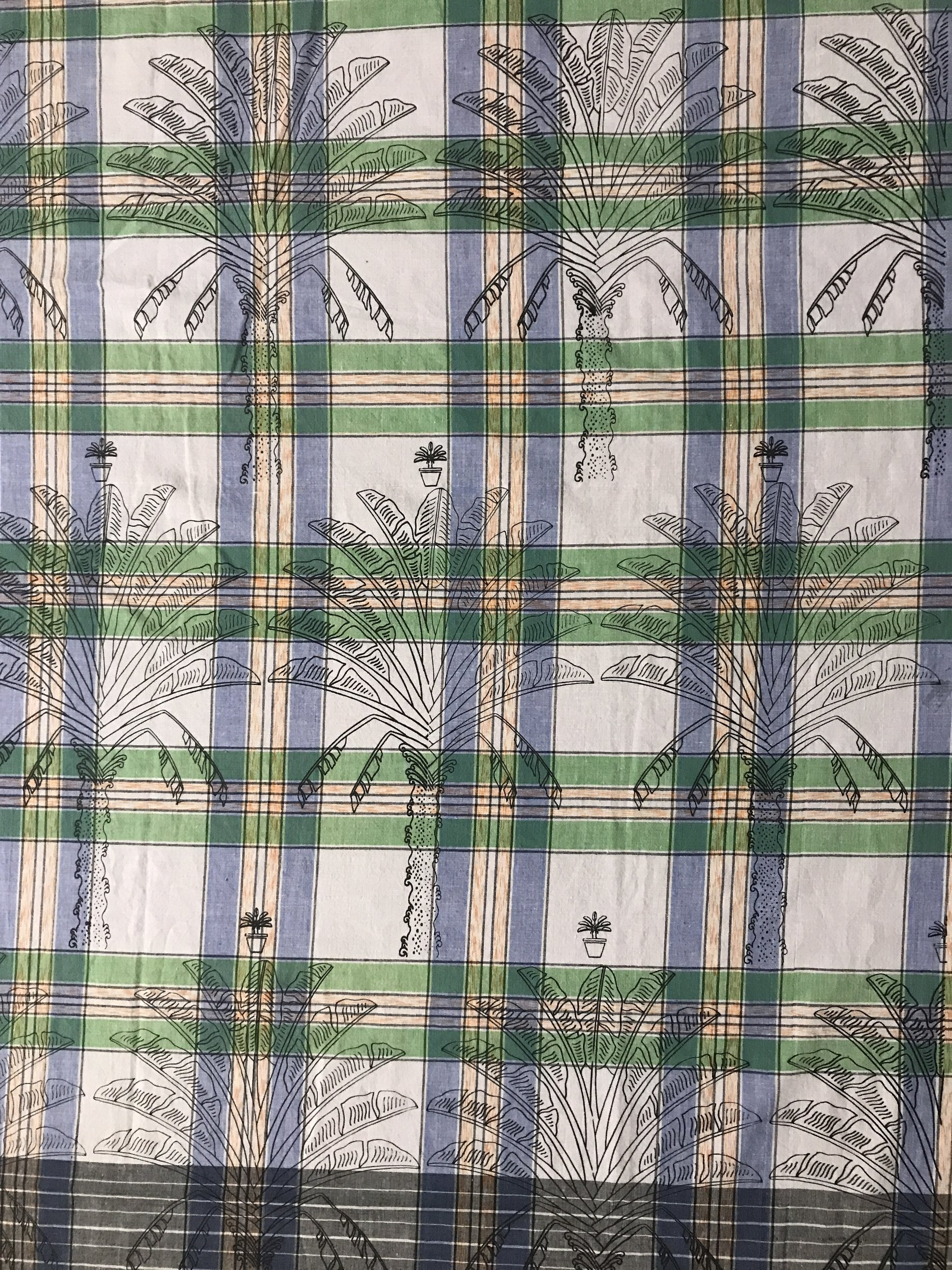 Pygmy Traveller's Palm – Used Fabric