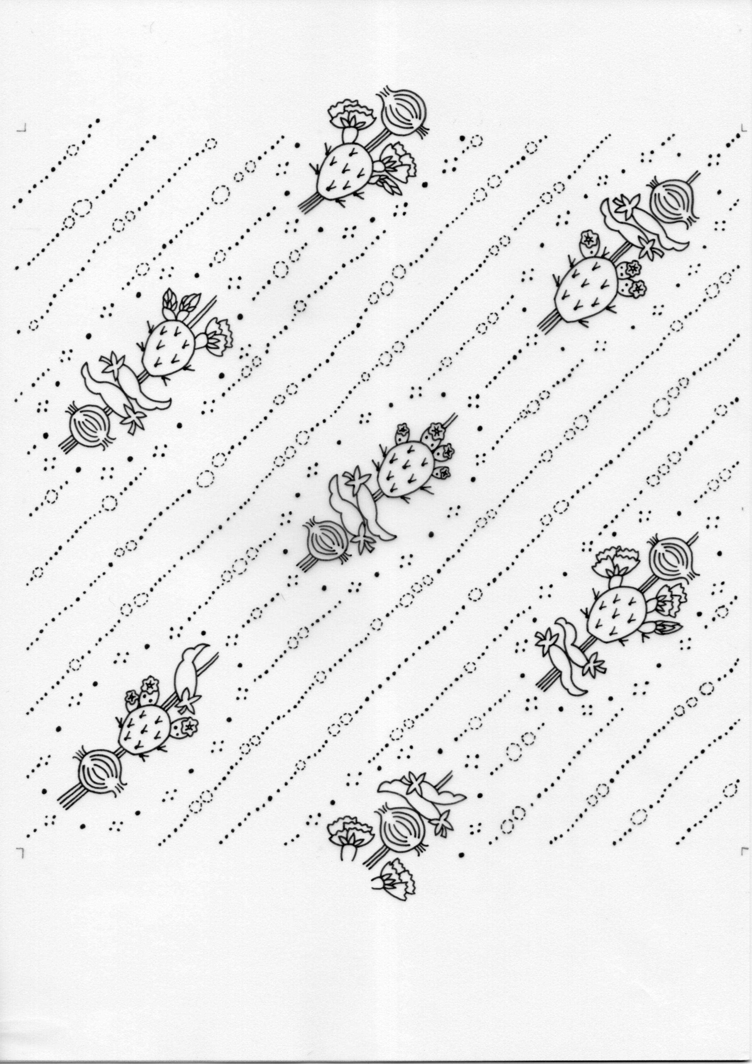 Dry Spicypear – Inked Drawings
