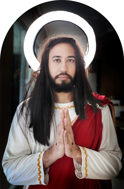 Standard Portrait of Jesus (The Son of God/Carpenter)