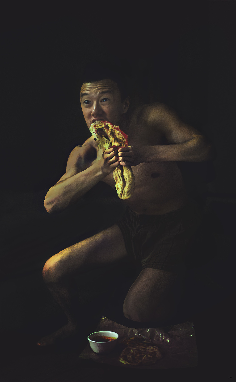 Saturn Devouring His Naan