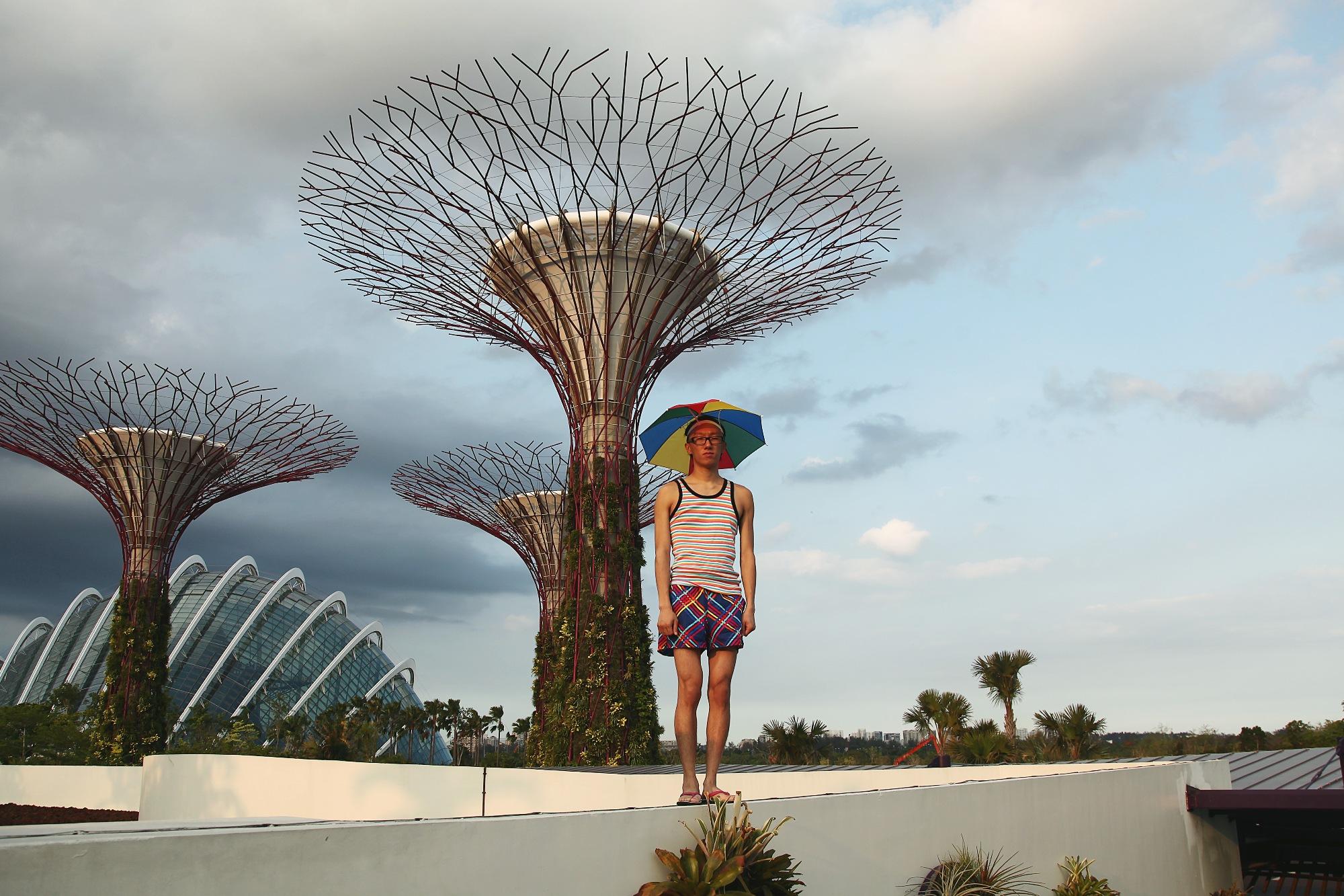 Umbrella Hat - Garden Series
