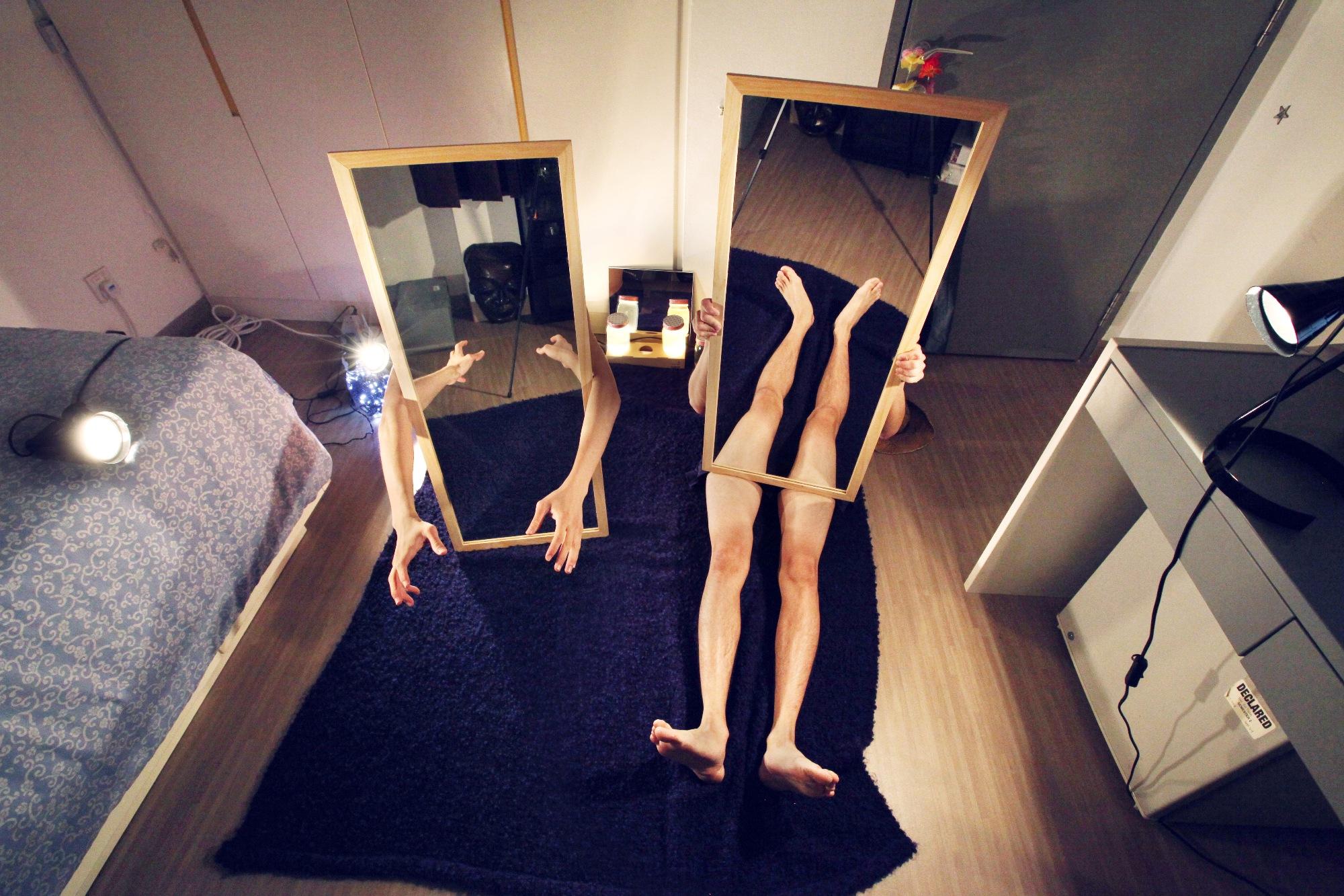 Mirror Legs - Room Series