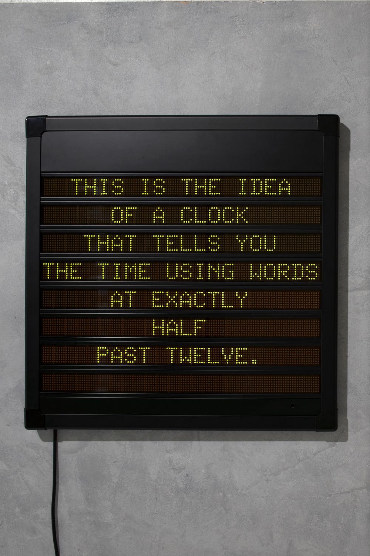 Idea of a Clock
