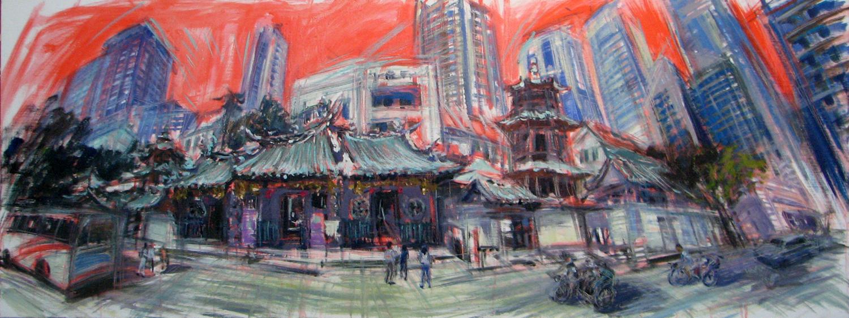 Horizons of change no.42 (Tian Hock - Keng Temple)