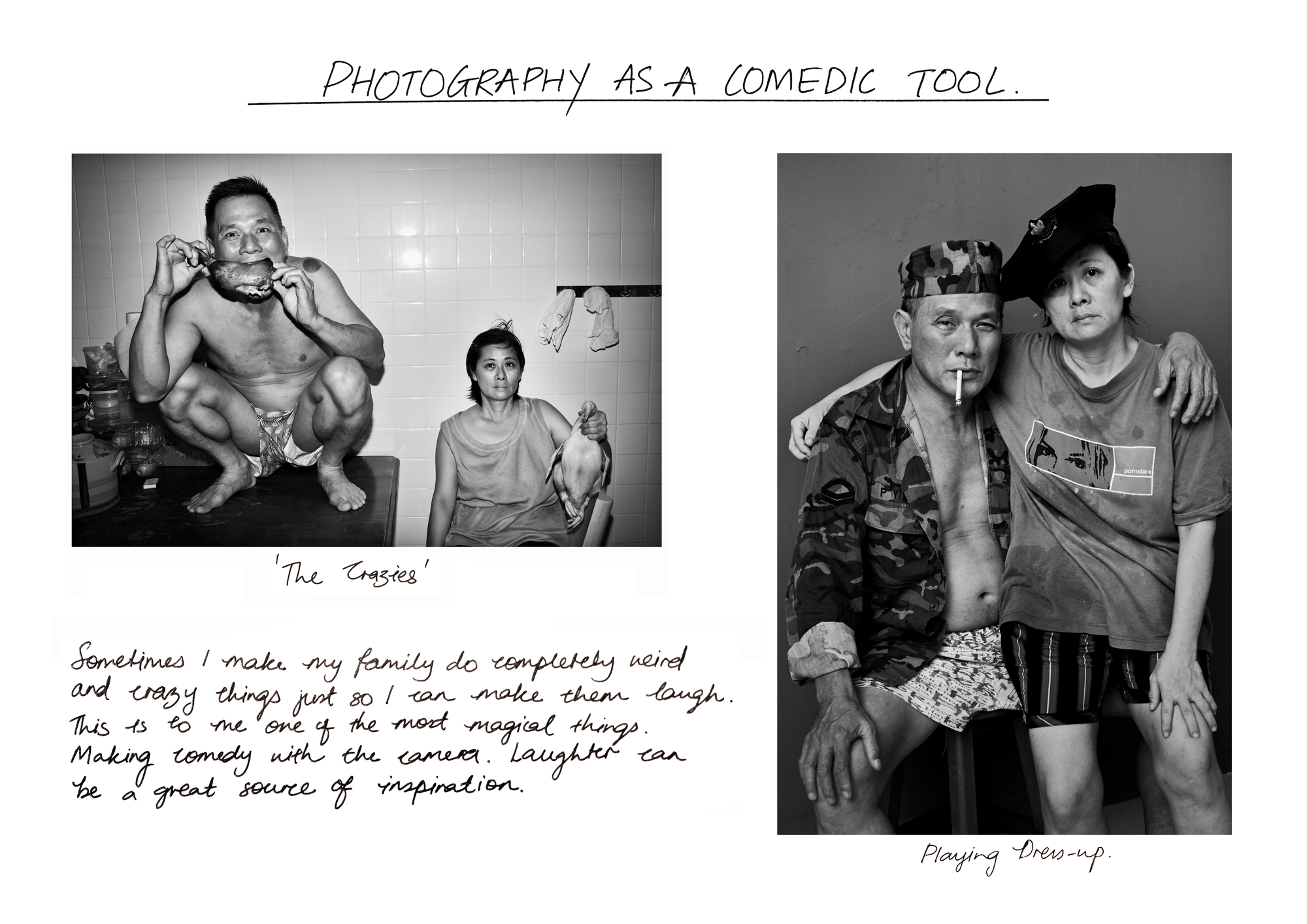 Photography as a Comedic Tool