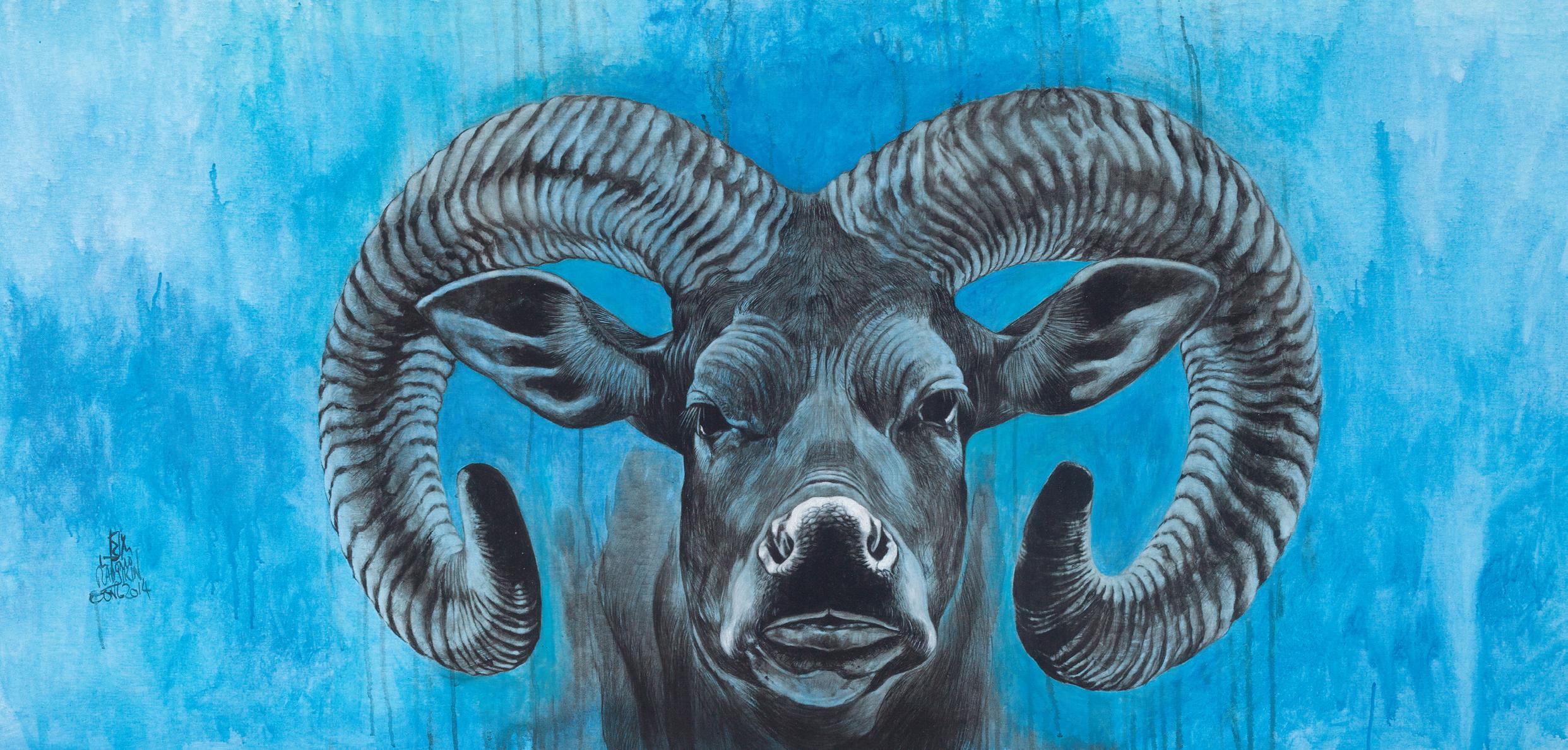 Lembu Bertanduk Kambing