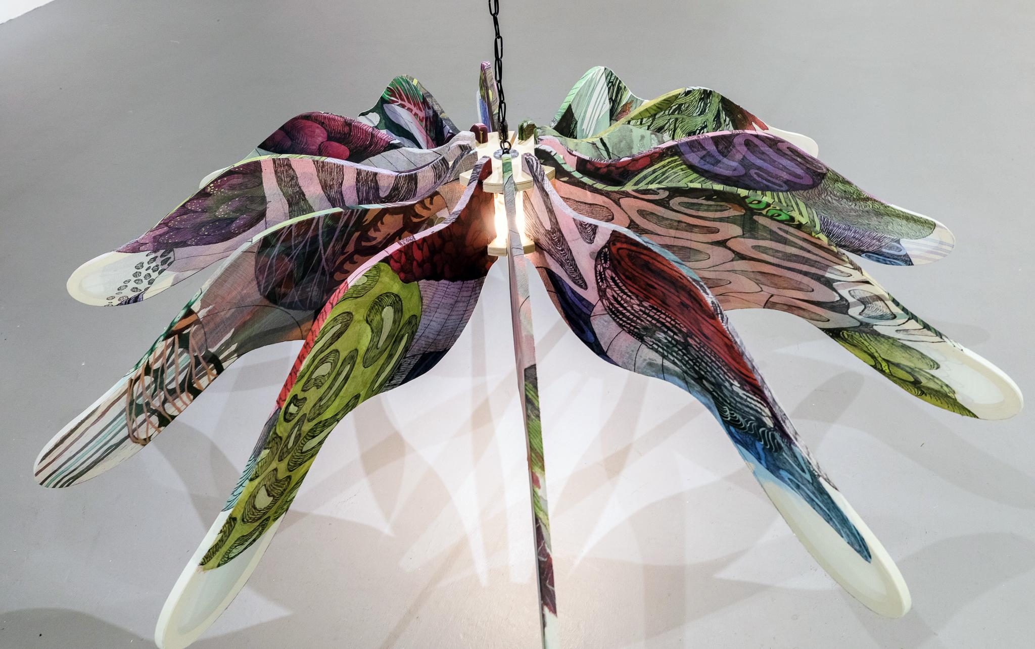 Chandelier, 12 Wings