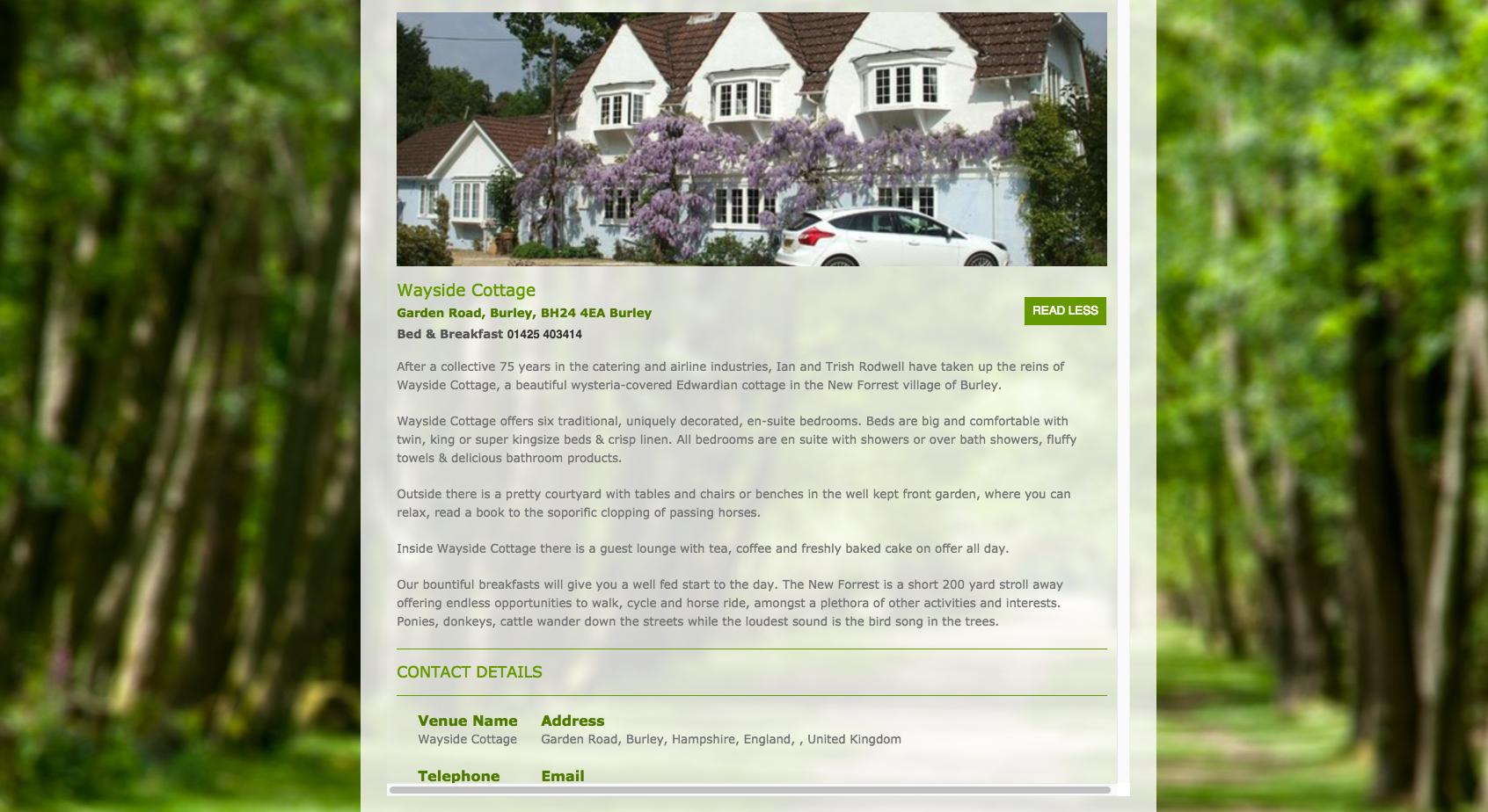 Wayside Cottage Burley