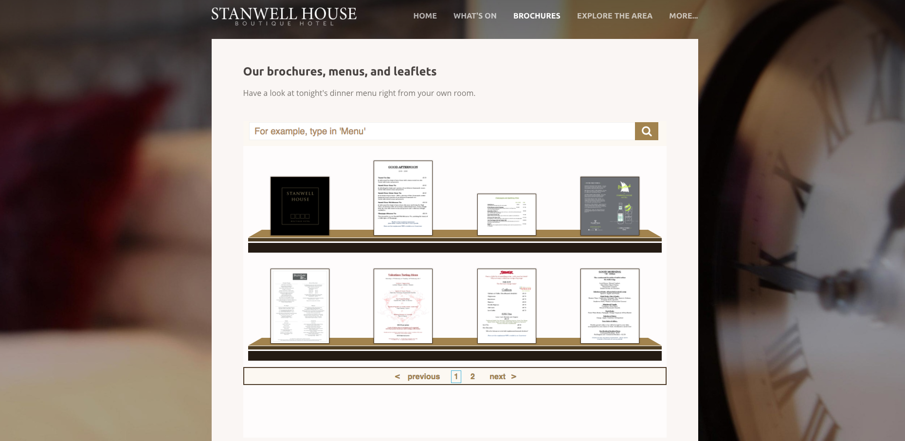 Stanwell House Brochure Rack.png
