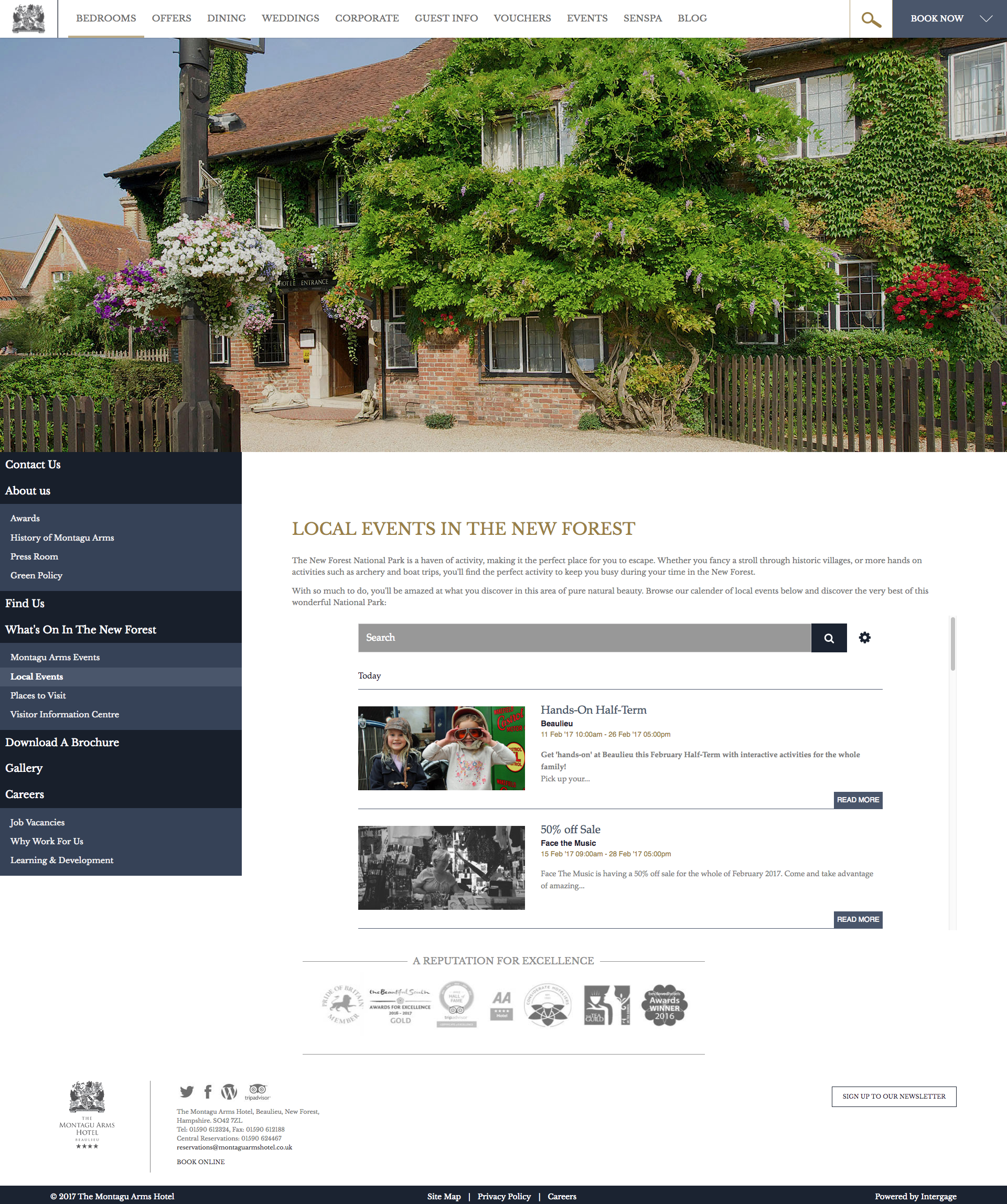 What's On New Forest Montagu Arms.png