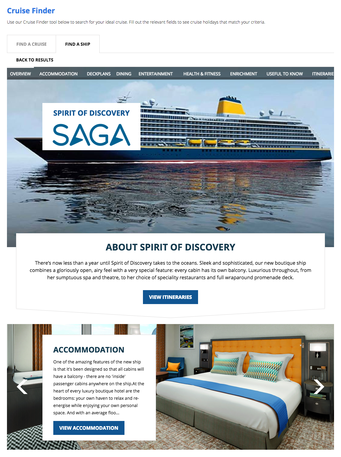 NEW Spirit of Discovery (launching 2019)