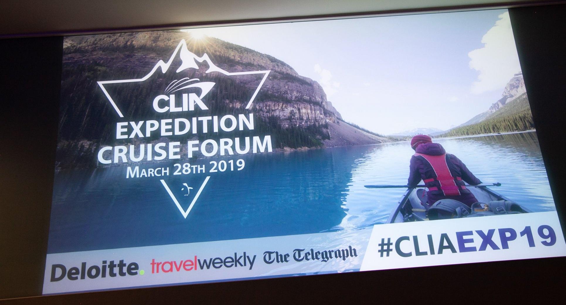 CLIA Expedition Cruise Forum Event