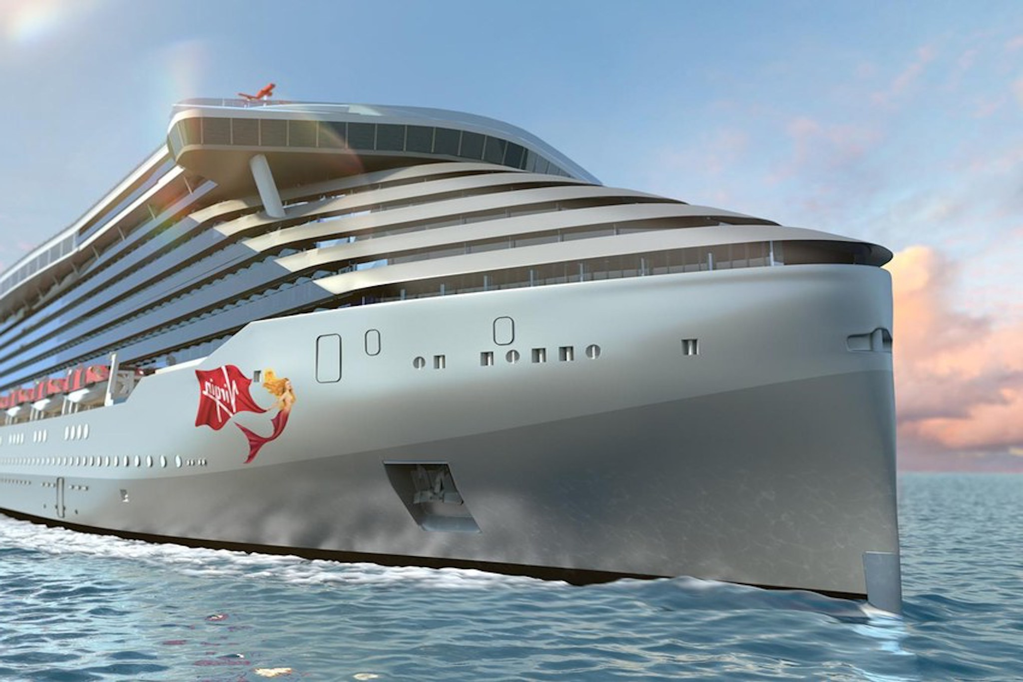 New kid on the block: Virgin Voyages first ship Scarlet Lady launches in 2020.