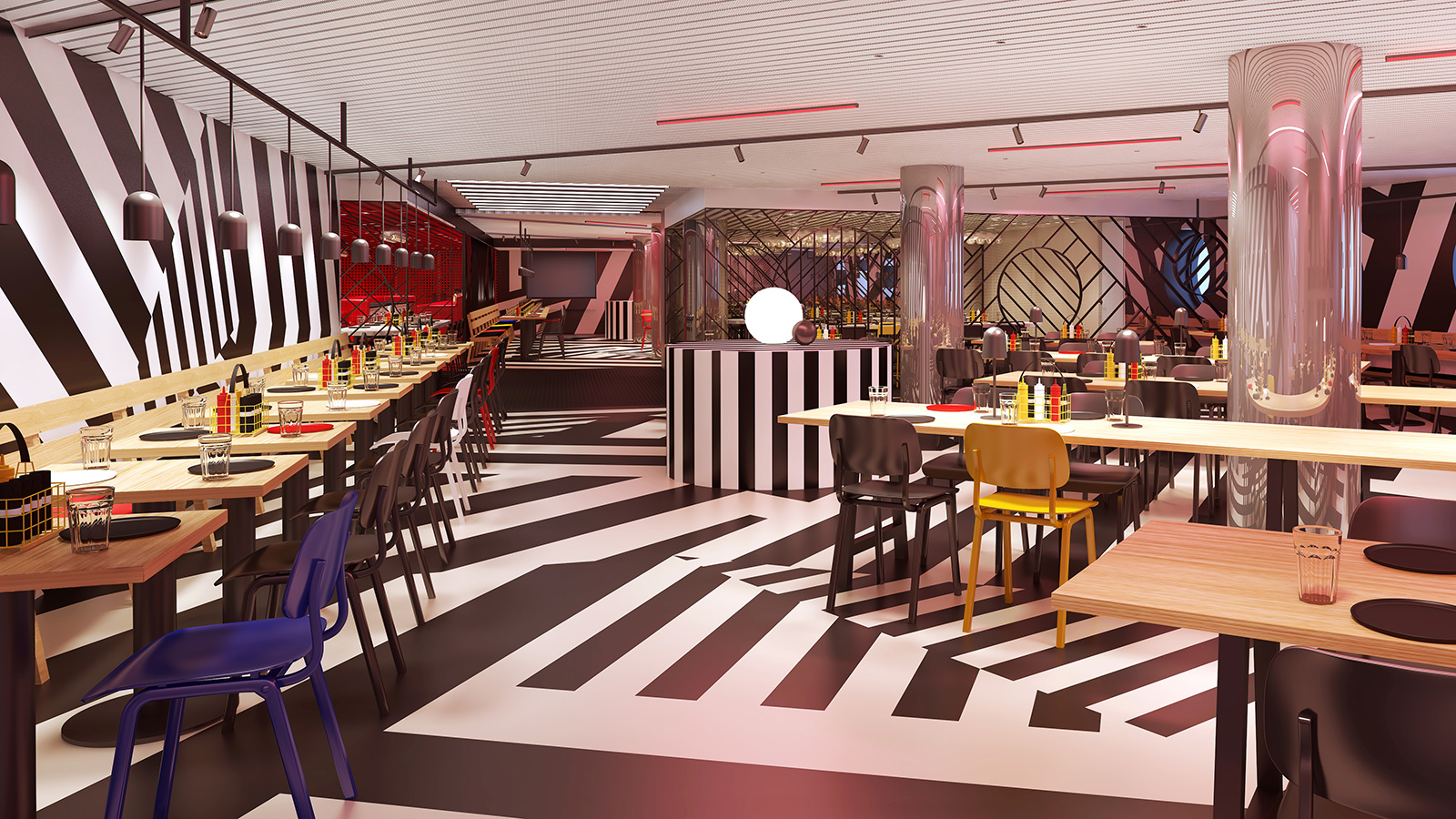 Razzle Dazzle is a restaurant we can't wait to see…vegetarian options  and  drag queens?! What more could you want?