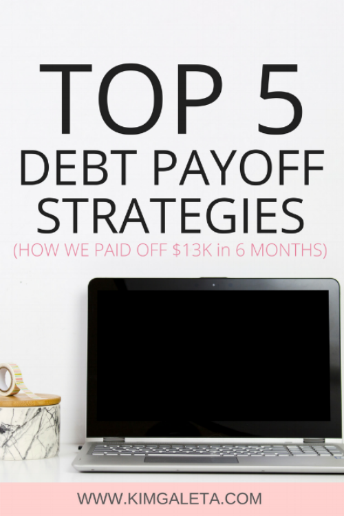Wow! They paid off $13,000 of debt in 6 months.