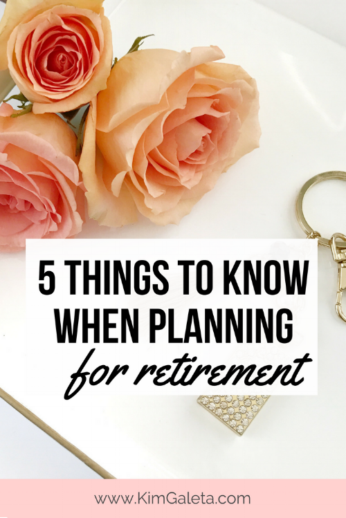 Wow, these are great tips to think about for retirement!