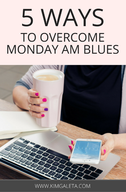 Need productivity tips to get over the Monday AM blues? These productivity tips are easy to follow to keep you motivated.