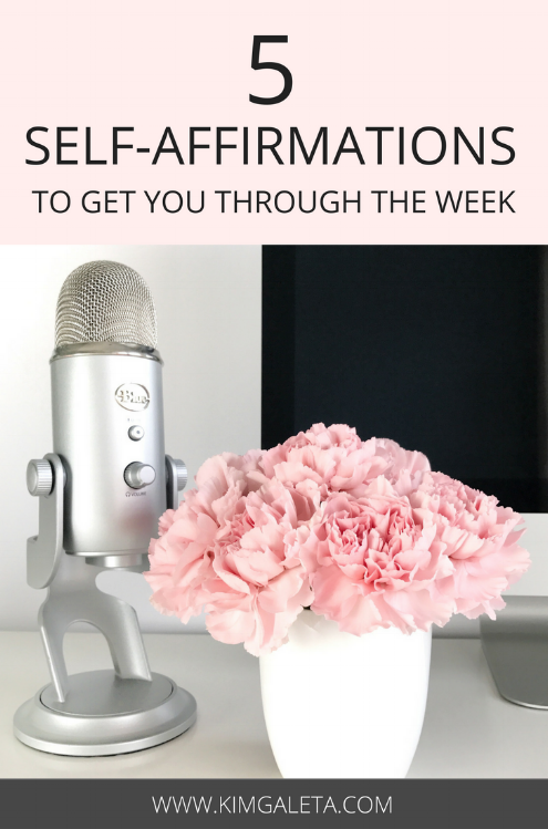 These personal development tips are super helpful. 5 self-affirmations to feel motivated and productive. These self-affirmations are great personal development tips.