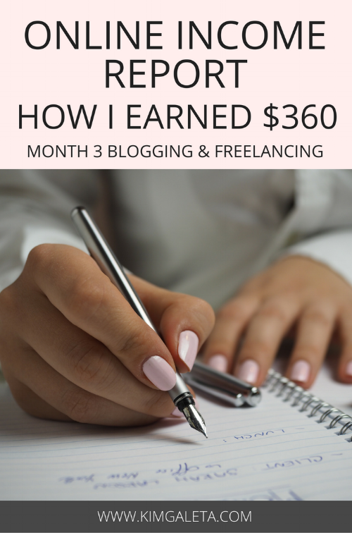Want to know how to earn money blogging? Check out this income report which shows tips and tricks to make money blogging as well as freelance writing.