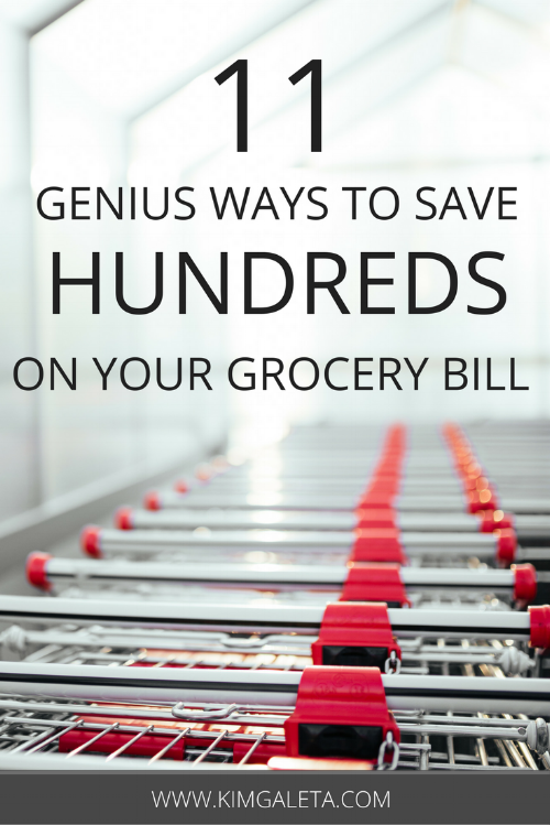 Want to know how to save money on groceries without eating like crap? Check out these tips for cutting your grocery bill in half while still eating well.