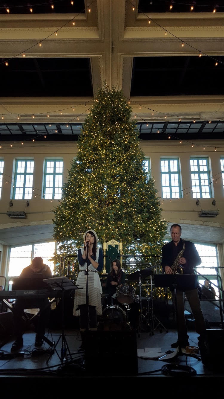 Acada Jazz Ensemble, Convention Hall, Asbury Park, NJ (Ian Howells, Audra Mariel, April Centrone, Andy Demos)