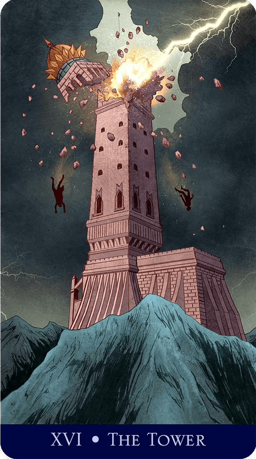 The Tower Tarot Card Meaning