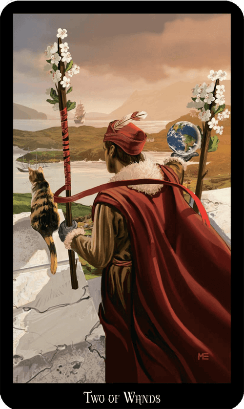 Two of Wands Tarot Card Meaning