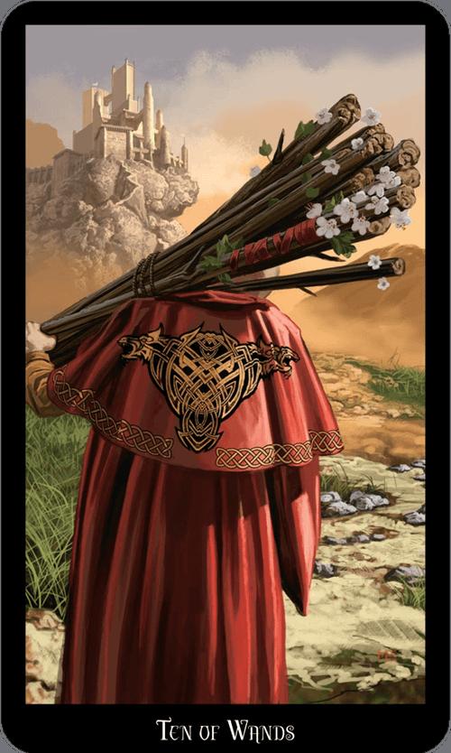 Ten of Wands Tarot Card Meaning