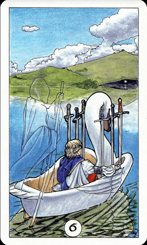 Six of Swords Tarot Card Meaning